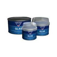 Наполнительная усиленная стекловолокном полиэфирная шпатлевка Solid Glas 210 мл