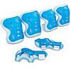 Захист для ролерів р. S, M блакитна