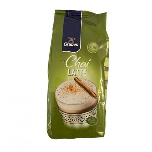 Капучіно розчинний для кавових автоматів Grubon Chai Latte, Німеччина, 400г зі смаком латте, кориці, чаю