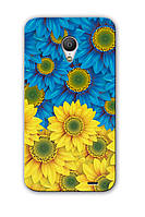 Чехол для Meizu MX3 (Цветы)