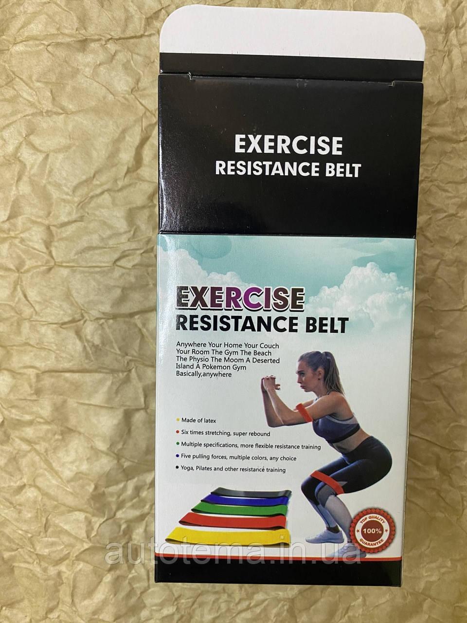 Набор фитнес резинок 5 шт