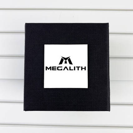 Коробочка з логотипом Megalith Black