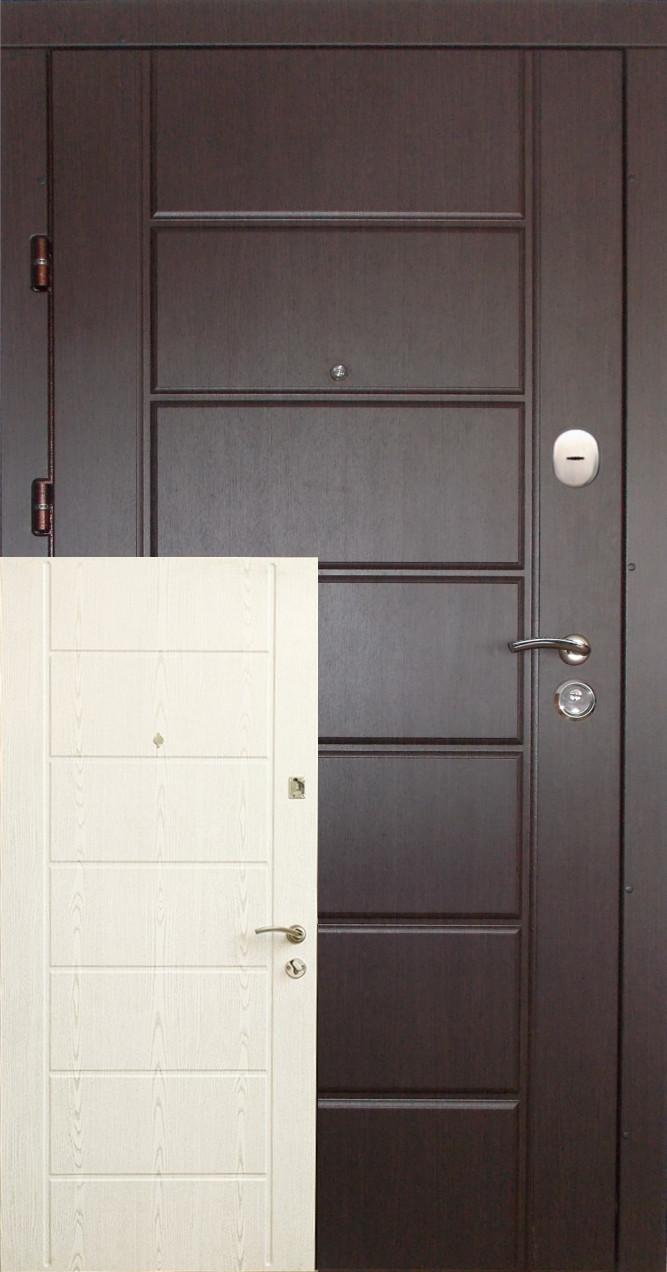 """Входные двери """"Редфорт  (Redfort) Канзас"""" 2 цвета МДФ в квартиру"""