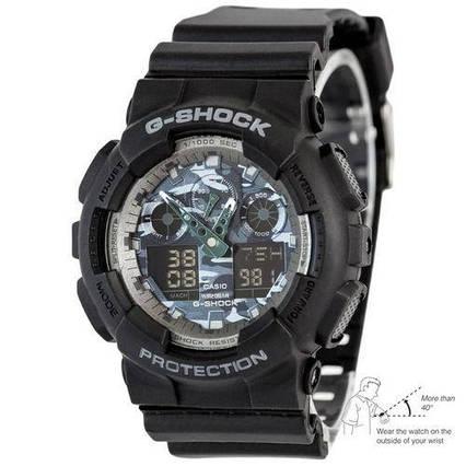 Casio G-Shock GA-100 Autolight Black-Gray