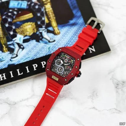 Richard Mille Automatic Red-Black