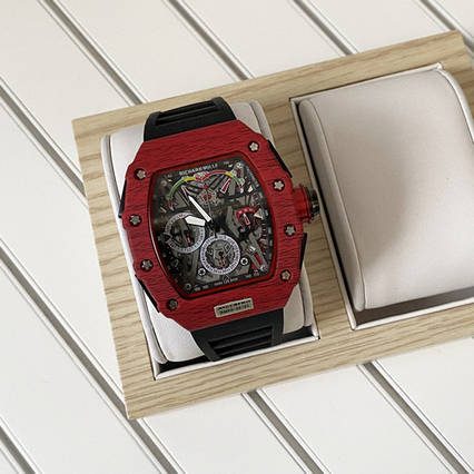 Richard Mille Automatic Black-Red