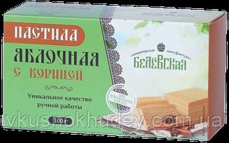 "Пастила яблочная без сахара ""Белевская"" с Корицей  (100 грамм)"