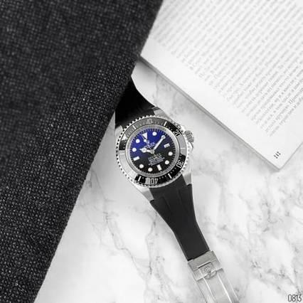 Rolex Deepsea Sea-Dweller Black-Silver-Black-Blue
