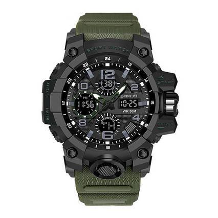 Sanda 6021 Green-Black