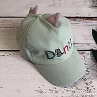Детская стильная кепка DINO (нежно-мятный)