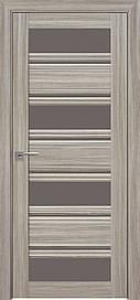 Двері Новий Стиль Венеція С2 скло Бронза, Перли Magica, 700