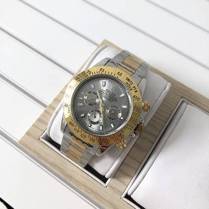 Rolex Daytona Automatic Silver-Gold-Gray