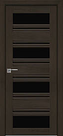 Двері Новий Стиль Венеція С2 скло Чорне, Перли кавовий, 900