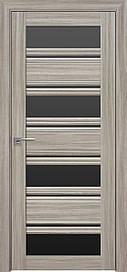 Двері Новий Стиль Венеція С2 скло Чорне, Перли Magica, 900