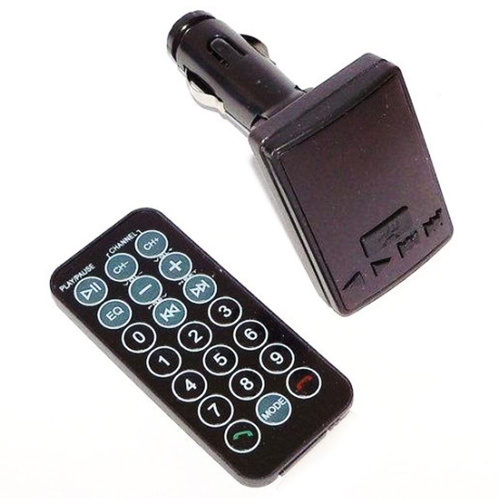 Автомобільний трансмітер CM i10ABT 3312 / Fm модулятор в машину з пультом