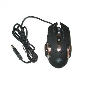 Ігрова мишка GAMING MOUSE X6 / Комп'ютерна ігрова мишка з LED підсвічуванням, фото 2