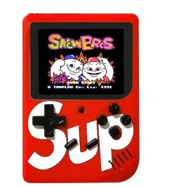 Портативная игровая приставка Retro FC Game Box Sup 400 in1 Красный