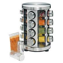 Набір для спецій 16 ємностей (баночок) Spice Carousel / Підставка для спецій, фото 3