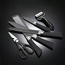 Набор кухонных ножей 6 в 1 / Профессиональные острые ножи из нержавеющей стали, фото 3
