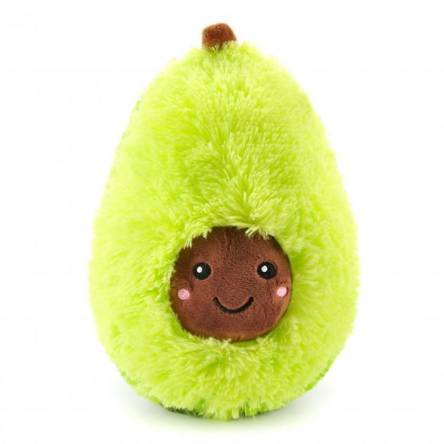 Мягкая плюшевая игрушка-подушка Авокадо 30 см