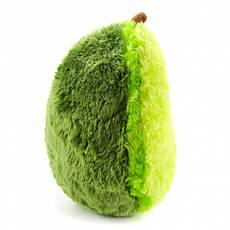 Мягкая плюшевая игрушка-подушка Авокадо 30 см, фото 2