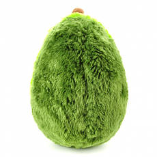 Мягкая плюшевая игрушка-подушка Авокадо 30 см, фото 3