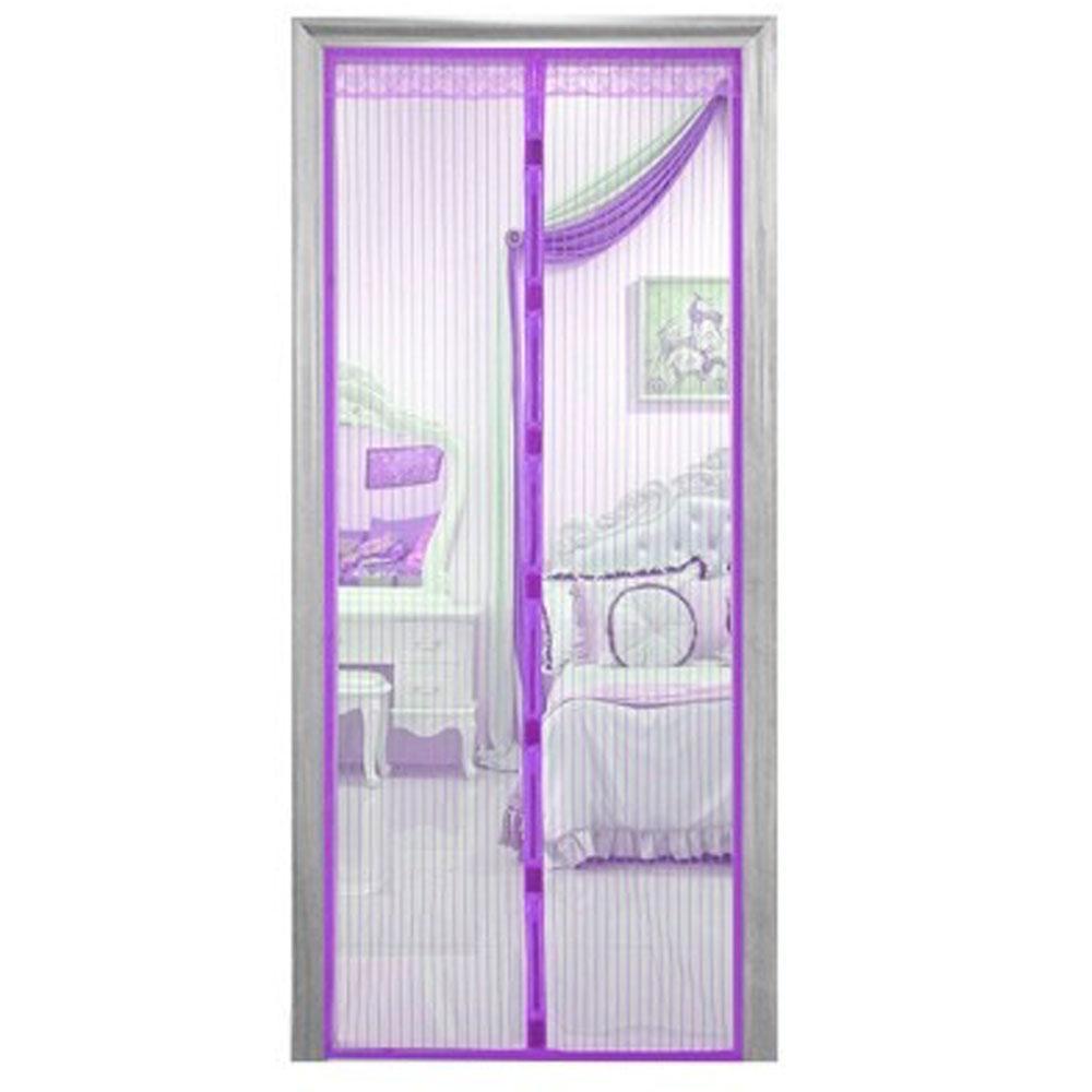 Москитная сетка 100х210 см на магнитах Magic Mesh Фиолетовый