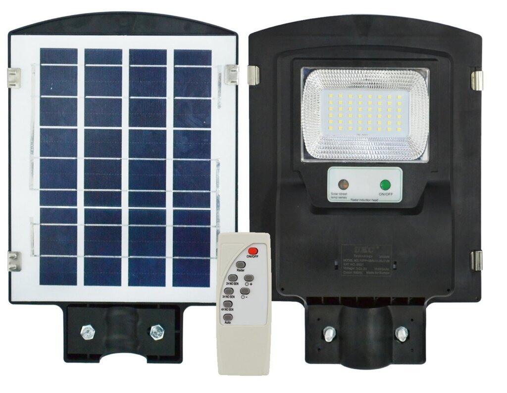 Уличный светодиодный LED светильник 1VPP 30W на солнечных батареях с пультом