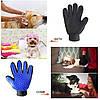 Перчатка для вычесывания шерсти True Touch / Щетка для домашних питомцев, фото 4