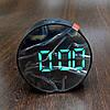 Настільні електронні LED годинник дзеркальні DT-6505, фото 2