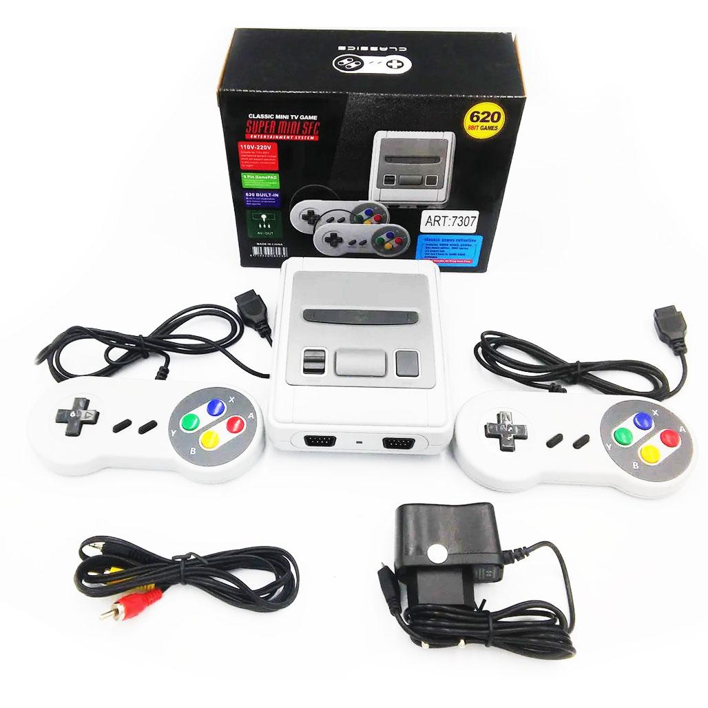 Игровая приставка Game 620 с джойстиками / Игровая консоль