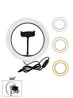Кільцева світлодіодна лампа LED Ring 26см Fill Light
