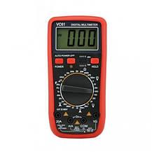 Цифровий мультиметр DT VC 61A / Електронний вимірювальний прилад, фото 2