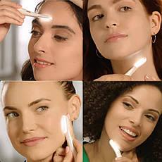 Жіночий трімер для особи Flawless Brows DermaPlane GLO, фото 2