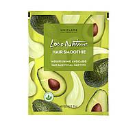 Питательная маска-смузи для всех типов волос с авокадо Love Nature от Орифлейм
