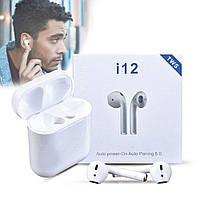 Бездротові Bluetooth-навушники TWS i12 AirPods