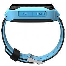 Умные детские часы с GPS Smart Baby Watch Q529 / смарт часы для детей Голубой, фото 2