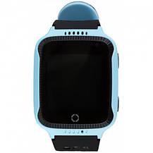 Умные детские часы с GPS Smart Baby Watch Q529 / смарт часы для детей Голубой, фото 3