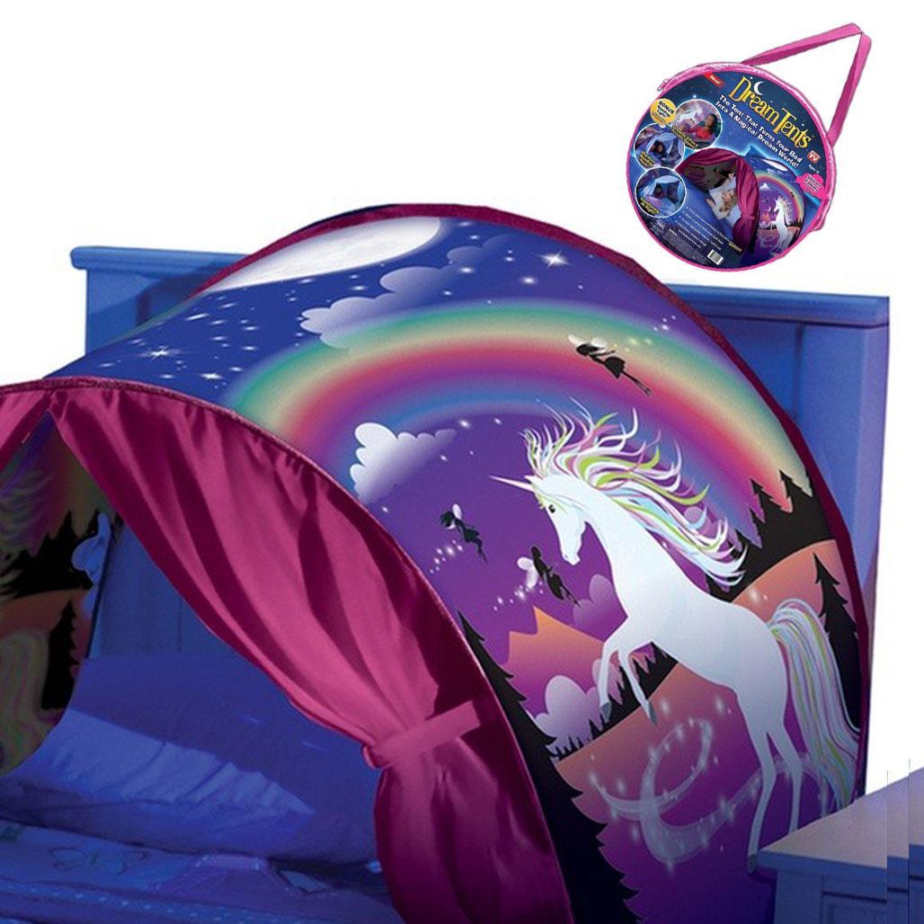 Детская палатка Dream Tents / Детский тент для сна Розовый