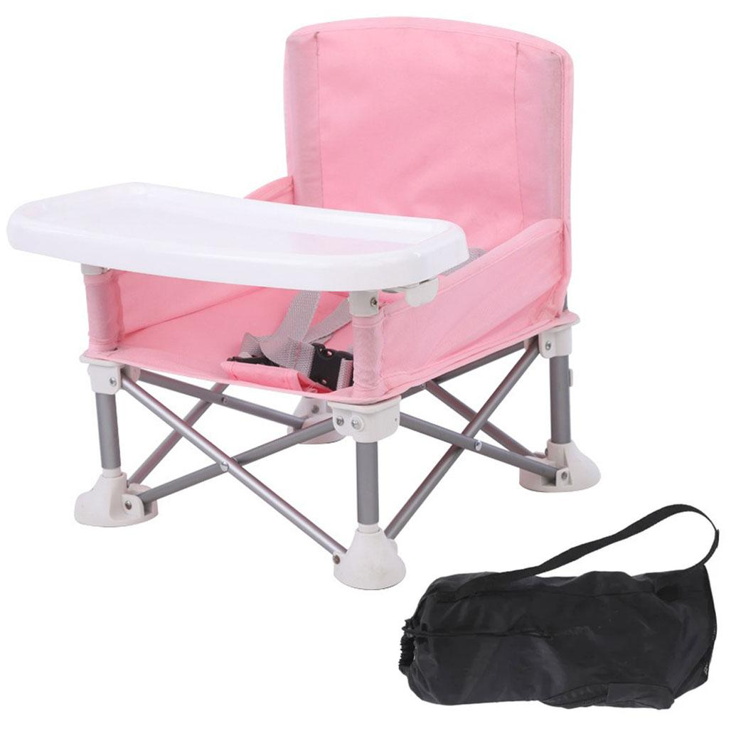 Детский стульчик для кормления Baby seat / Столик для кормления Розовый
