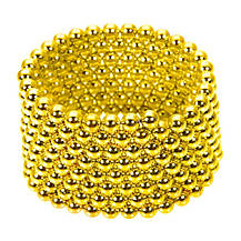 Конструктор-головоломка Neocube 216 кульок Золото / Дитяча іграшка NEO CUBE GOLD, фото 3