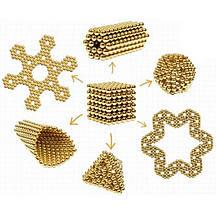 Конструктор-головоломка Neocube 216 кульок Золото / Дитяча іграшка NEO CUBE GOLD, фото 2