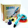 3D ручка с LCD дисплеем для рисования объемных моделей Голубой, фото 2