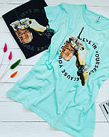 Ф12 Молодіжні жіночі футболки різні кольори