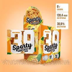 Фитнес печенье Sporty Fitness Мультифрукт (60 грамм)
