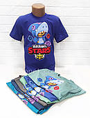 Футболка Старс Леон-акула, 122-146см, для стильных и увлеченных игрой Stars детей