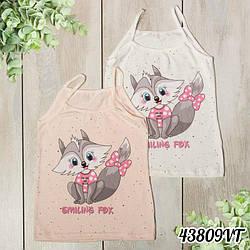"Майка дитяча для дівчаток ""Smiling Fox"" Donella (Туреччина) 8/9-43809VT"