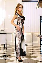 Платье с леопардовым принтом | Фисента lzn, фото 3
