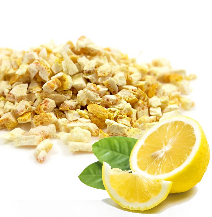 Сублімований Лимон з цедрою, шматочки. 25г