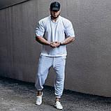 Мужской комплект ASOS over футболка + штаны , серый, S, фото 2